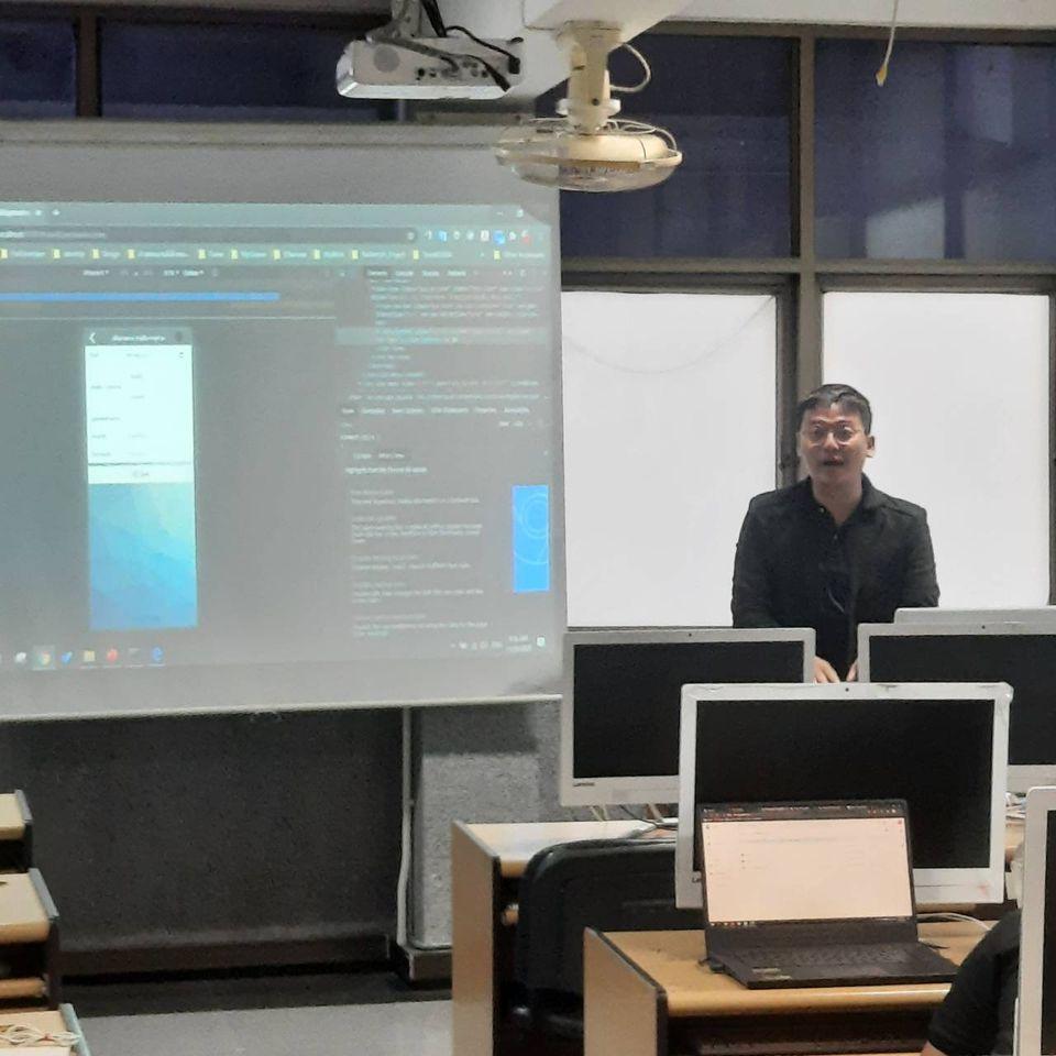 โครงการพัฒนาทักษะด้านวิชาการ/วิชาชีพ เรื่อง Mobile Application Cross-platform Development with Flutter
